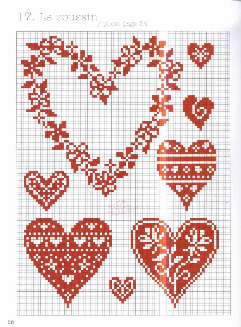 I love you схема вышивки крестом